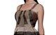 Vestido em tafetá e renda saia gode - Imagem 2