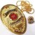 Distintivo Investigador Profissional Folheado a Ouro Brinde Bótom - Imagem 1