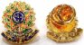 Distintivo Porta Funcional Investigador Particular Civil Folheado A Ouro Brinde Bótom - Imagem 3