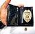 Distintivo Porta Funcional Investigador Particular Civil Folheado A Ouro Brinde Bótom - Imagem 2