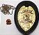 Distintivo Agente De Segurança Couro Folheado Brinde Bótom - Imagem 5