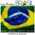 Bótom Pim Broche Bandeira Brasil X Líbano Folheado A Ouro - Imagem 5