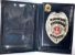 Distintivo Porta Funcional Agente De Escolta Armada São Paulo Folheado À Prata Brinde Bótom - Imagem 2