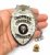 Distintivo Agente Escolta Armada Folheado À Prata Brinde Bótom - Imagem 1