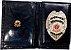 Distintivo Porta Funcional Agente Segurança Pessoal Folheado A Ouro + Bótom - Imagem 2