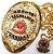 Distintivo Agente De Segurança Pessoal Folheado A Ouro + Bótom - Imagem 1