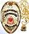 Distintivo Agente De Segurança Pessoal Folheado A Ouro + Bótom - Imagem 2