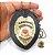 Distintivo Agente De Segurança Pessoal Couro Folheado A Ouro + Bótom - Imagem 4