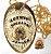 Distintivo Agente De Escolta Folheado A Ouro Brinde Bótom - Imagem 4