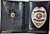Distintivo Porta Funcional Agente Vigilante Folheado À Prata Brinde Bótom - Imagem 1
