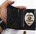Distintivo Porta Funcional Agente Vigilante Folheado À Prata Brinde Bótom - Imagem 3