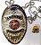 Distintivo Agente Vigilante Folheado À Prata Brinde Bótom - Imagem 2