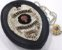Distintivo Agente De Segurança Couro Folheado À Prata Brinde Bótom - Imagem 1