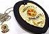 Distintivo Agente Vigilante Folheado A Ouro Couro Brinde Bótom - Imagem 2
