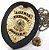 Distintivo Agente Segurança Privada Couro Folheado + Bótom - Imagem 1
