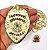 Distintivo Agente De Segurança Privada Folheado A Ouro Brinde Bótom - Imagem 3