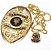 Distintivo Agente De Segurança Folheado A Ouro Brinde Bótom - Imagem 1