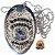 Distintivo Agente De Escolta Armada Folheado À Prata Brinde Bótom - Imagem 2