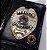 Distintivo Porta Funcional Agente Segurança Brinde Bótom - Imagem 1
