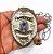 Distintivo Agente De Segurança Folheado À Prata Brinde Bótom - Imagem 4