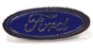 Pim Bótom Broche Pin Ford Folheado À Prata De Qualidade - Imagem 1