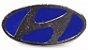 Pim Bótom Broche Pin Hyundai Folheado À Prata De Qualidade - Imagem 1