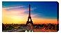 Quadro Decorativo Poster Paris em Canvas - Imagem 3
