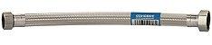 """GEFLEX Flexível Água em EPDM e Malha Inox MF 3/4"""" DN13 30cm GENEBRE - Imagem 2"""