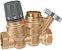 Regulador Termostático Duplo 116 de Circuitos de Recirculação para Água Quente de Consumo CALEFFI - Imagem 1