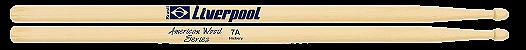 Baqueta American Hickory Liverpool 7A HY 7AM - Imagem 1