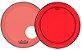 """Kit de Peles Remo Powerstroke 3 Colortone Batedeira + Resposta Vermelha p/ Bumbo 22"""" - Imagem 1"""
