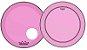 "Kit de Peles Remo Powerstroke 3 Colortone Batedeira + Resposta Rosa Pink p/ Bumbo 22"" - Imagem 1"