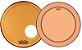 "Kit de Peles Remo Powerstroke 3 Colortone Batedeira + Resposta Laranja p/ Bumbo 20"" - Imagem 1"