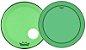"Kit de Peles Remo Powerstroke 3 Colortone Batedeira + Resposta Verde p/ Bumbo 18"" - Imagem 1"