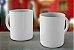 Caneca Ceramica Branca - Imagem 1