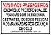 Placas de Sinalização Lei 7397 em aluminio PRONTA ENTREGA 10x15 - Imagem 2
