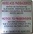 Placas de Sinalização Lei 7326 em aluminio port e ingles 15x15 Pronta entrega - Imagem 1