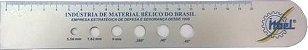 100 - Reguas em aluminio - Escalas em aluminio - para brindes - Imagem 3
