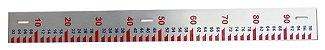 Comprar Regua Linimetrica para Hidrometria Analum em aluminio - Imagem 3