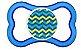 Chupeta MAM Air Azul Zig-Zag 6+ meses  - Imagem 2
