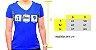 Camiseta Eat Sleep Pong Poliamida Feminina - Imagem 2