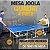 MESA OFICIAL JOOLA QUADRI 4 PIECE TABLE COM REDE - Imagem 2