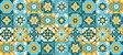 Adesivo Azulejo Ladrilho Hidráulico MOD 05 - Imagem 1