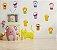 Kit Adesivos Animaizinhos de Balão com 12 peças - Imagem 2