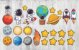 Kit Adesivos Astronautas com 25 peças - Imagem 2
