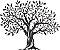 Adesivo de Parede Floral Árvore 02 - Imagem 1