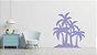 Adesivo de Parede Floral Árvore Palmeira 02 - Imagem 2