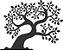 Adesivo de Parede Floral Árvore 05 - Imagem 1