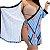Blusa Plus Size Transpassada (Envelope) - Turquesa - Imagem 3