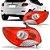 Lanterna Traseira Peugeot 207 Sedan Ré Prata (2011/2015) - FITAM - Imagem 1